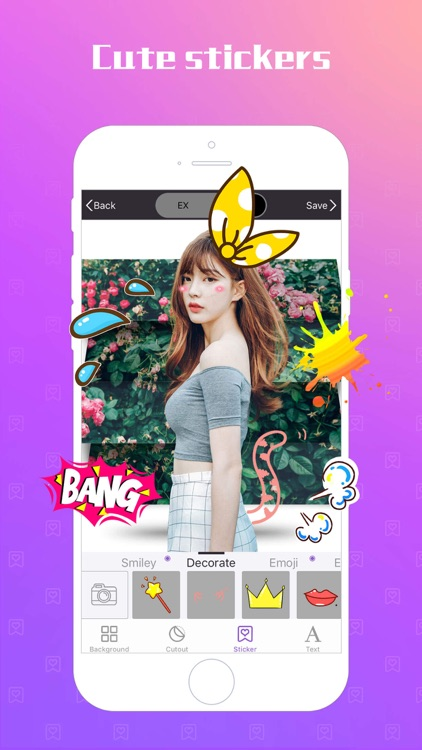 Switch & Cut Me In - Photo Background Color Eraser screenshot-3