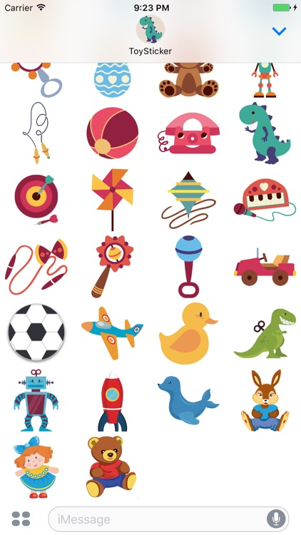 ToySticker - stickers for children, toys