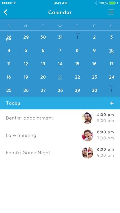 Family Organizer Calendar Planner By Sevenlogics Inc