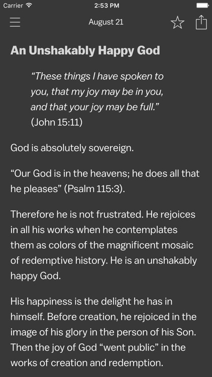 Solid Joys | Daily Devotional