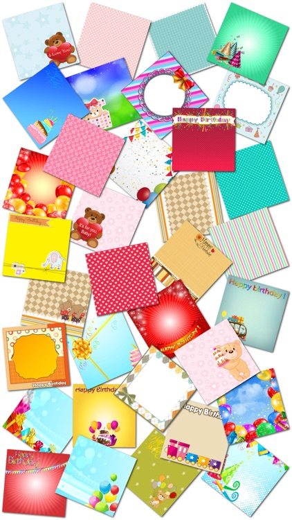 Birthday Cards and Stickers