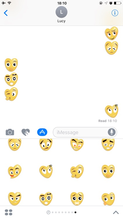 Love Gif Stickers for iMessage
