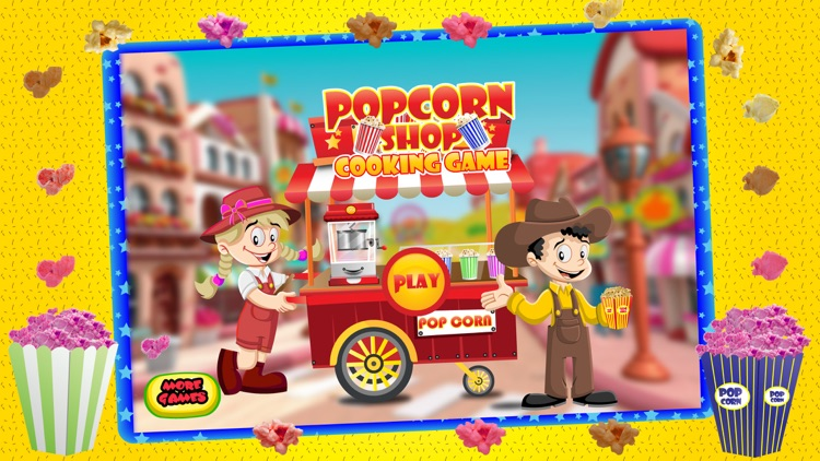 Popcorn Maker Cooking Games for kids