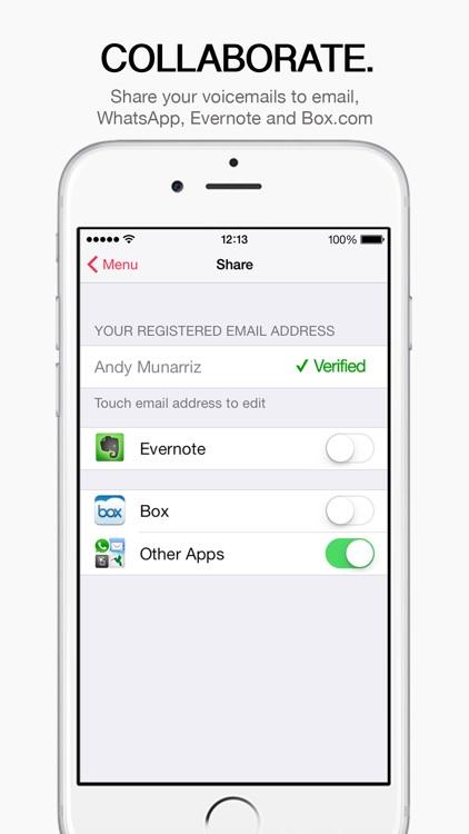 HulloMail SmartVoicemail screenshot-4