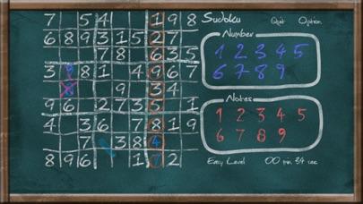 Screenshot #3 pour Sudoku on Chalkboard