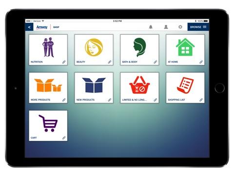 Screenshot of Amway™ App