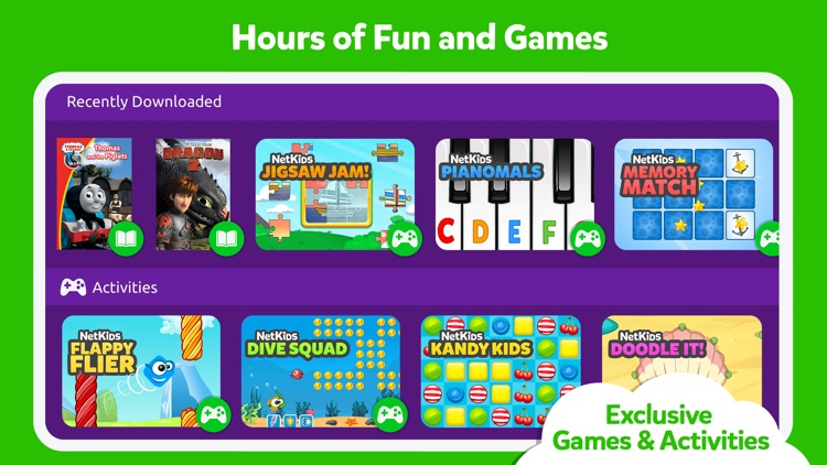 NetKids Digital Entertainment Network for Kids screenshot-1