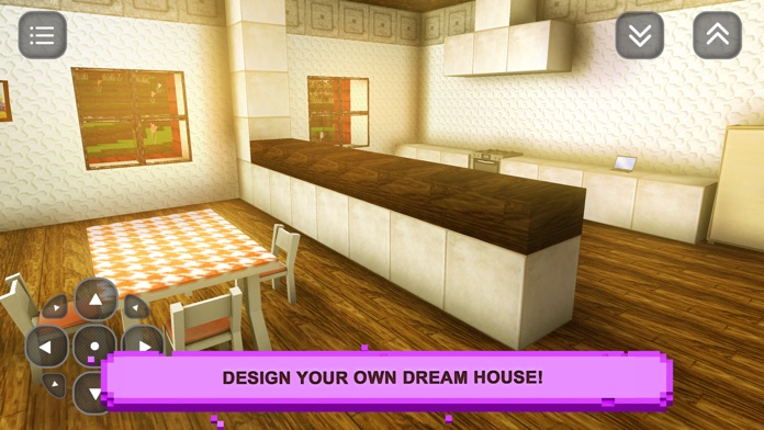 Dream House Design Sim Craft: Interior Exploration Screenshot