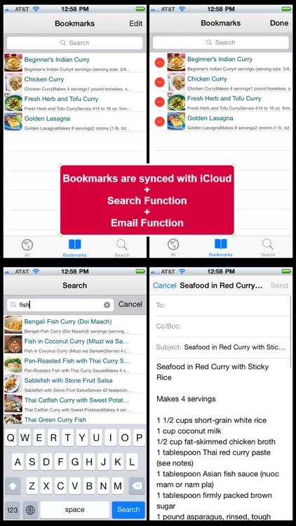500 Curry Recipes screenshot-4