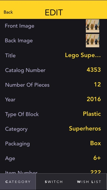 SnapCollect - Lego Collecting Manager screenshot-3