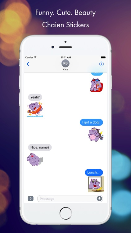 Chaien GIF Stickers