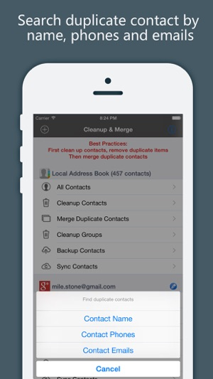 Now you can send and receive your Comcast email from your iPhone/iPad. Done!