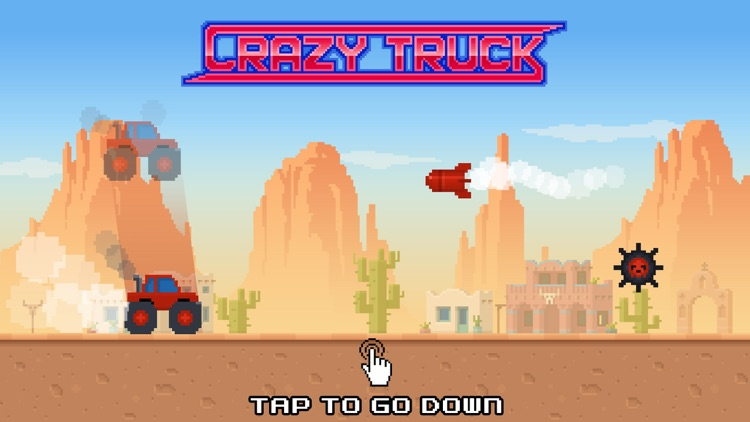 Crazy Truck! screenshot-0