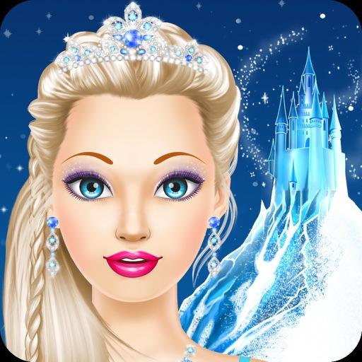 Снежная королева макияж и мода - игры для девочек