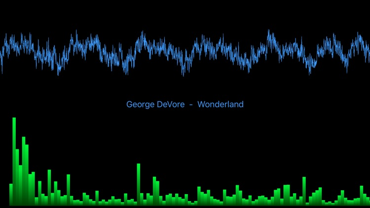 Sonance - An Audio Spectrum Analyzer with a Music Player