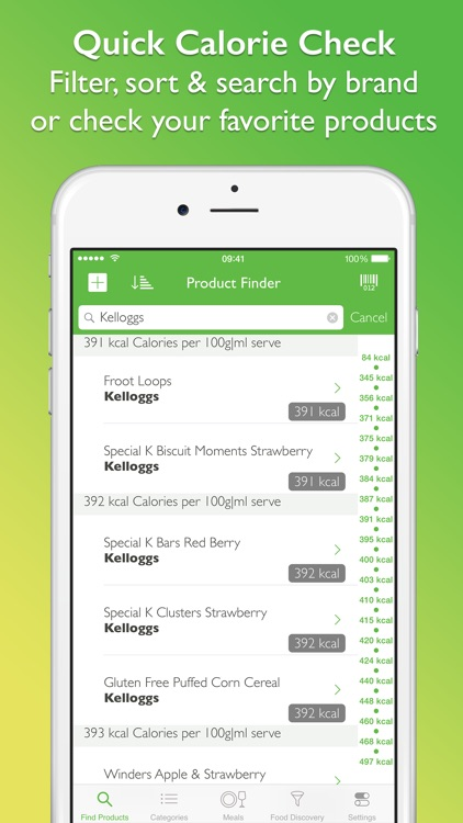 Supermarket Food Nutrition & Calorie Guide screenshot-4