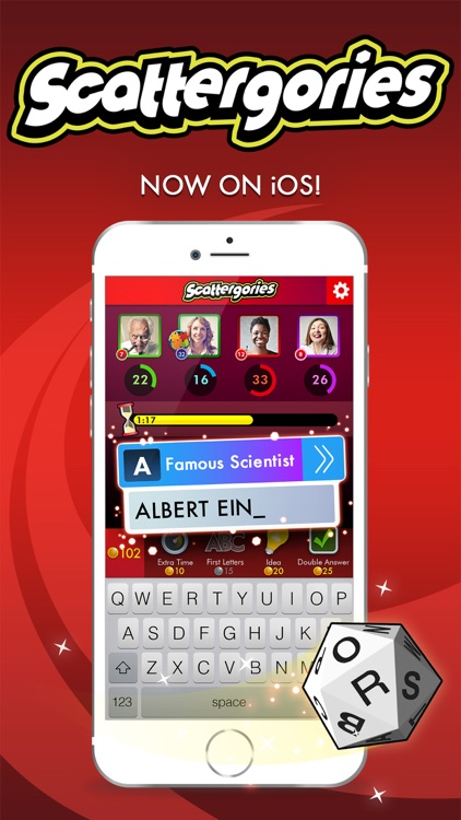 Scattergories: A fast-thinking game of categories screenshot-0