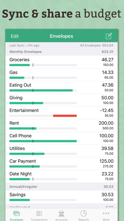 Goodbudget Budget Planner: Money & Expense Tracker