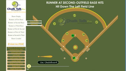 Screenshot for InMotion Baseball Playbook in United States App Store