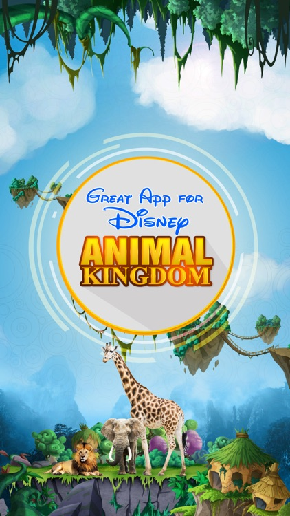Great App for Disney's Animal Kingdom screenshot-0
