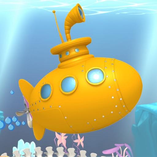 Submarine running game - the underwater adventure