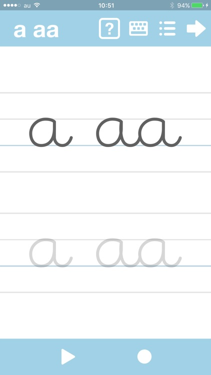Cursive Writing App - abCursive 4 screenshot-0
