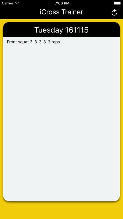 iCross Interval Crosstraining screenshot-3