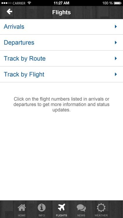 TVC Airport screenshot-3