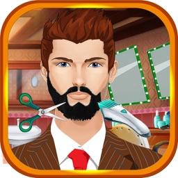 Beard Shaving Salon Girls Games