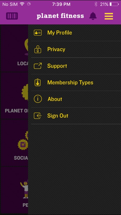 Planet Fitness review screenshots