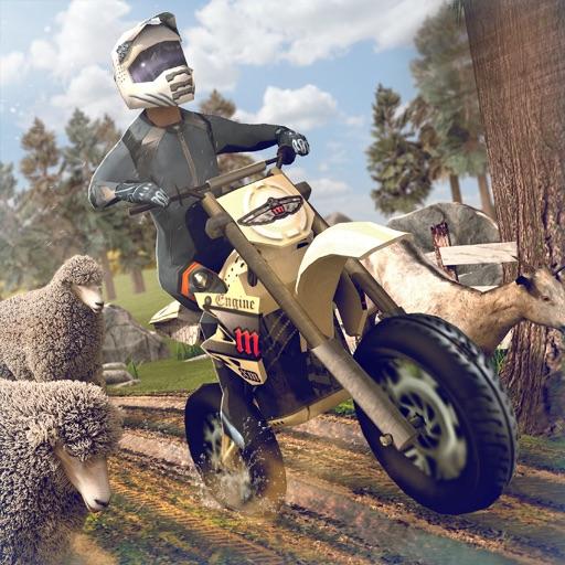 супер спорт мото гонки . мотоцикл симулятор игра