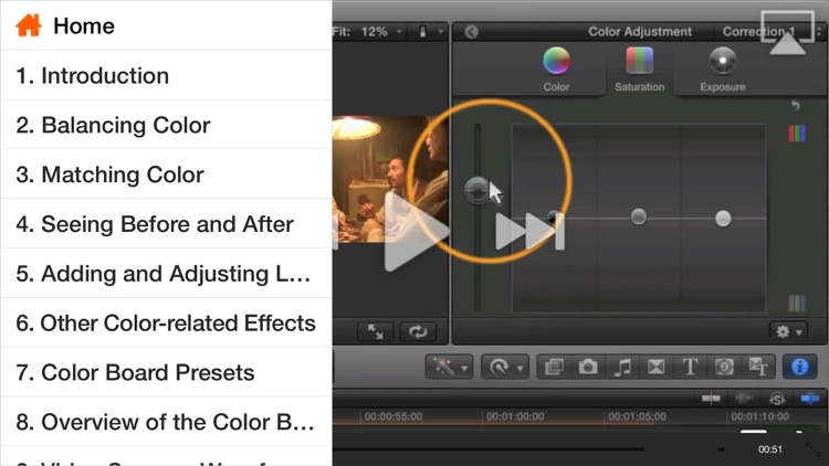 Course For Final Cut Pro X - Color Correction by Nonlinear Educating Inc
