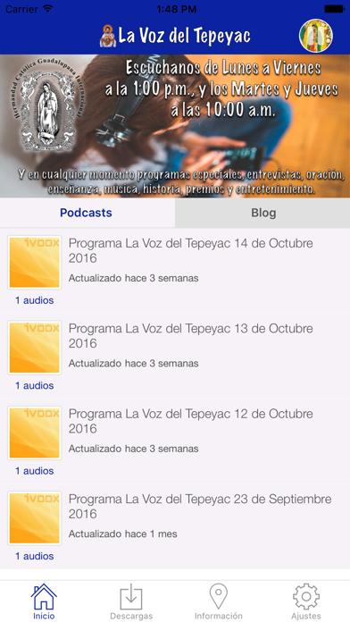 La Voz de Tepeyac Screenshot