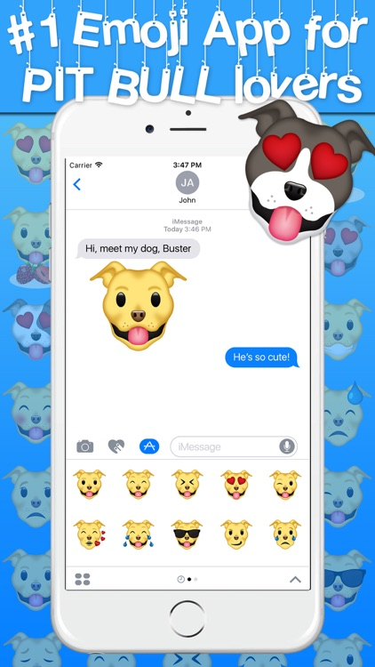 Pitmoji - Pit Bull Emoji & Stickers screenshot-2