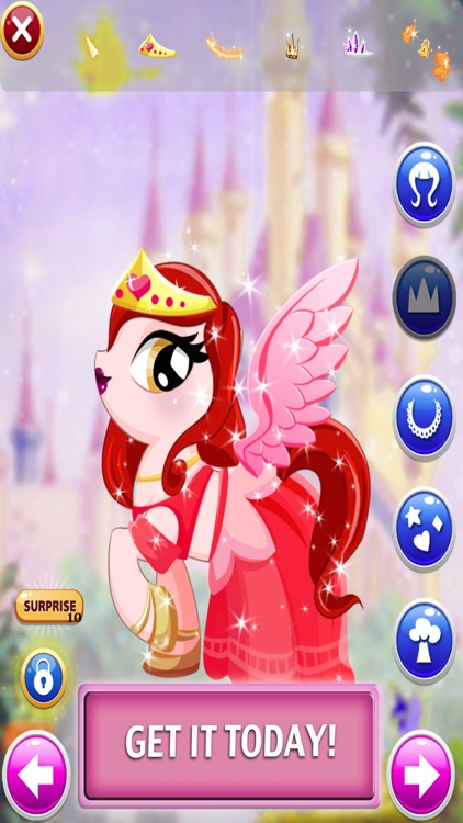 Pony Games - Fun Dress Up Games for Girls Ever 3