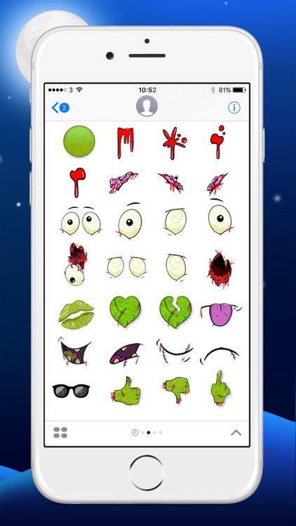 Zombie Yourself - Spooky Emoji Stickers