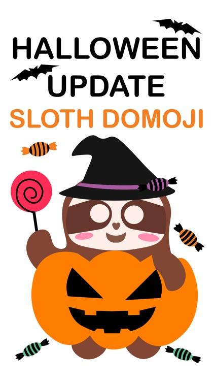 Sloth Halloween Domoji