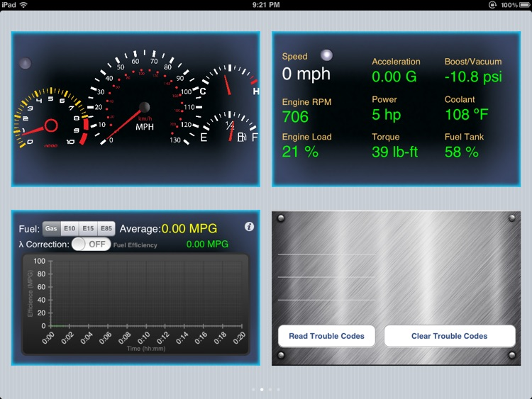 Engine Link HD -OBD II vehicle monitor & diagnosis screenshot-0