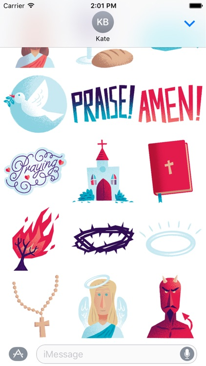 Christian - Free Christian Stickers