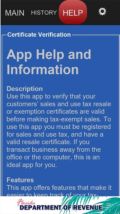 Fl Tax Verify By Florida Dor