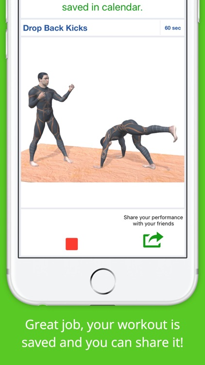 Kickboxing Workout Challenge Free Cardio Training screenshot-3