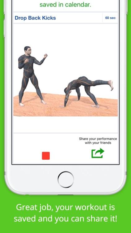 Kickboxing Workout Challenge Free Cardio Training screenshot-3
