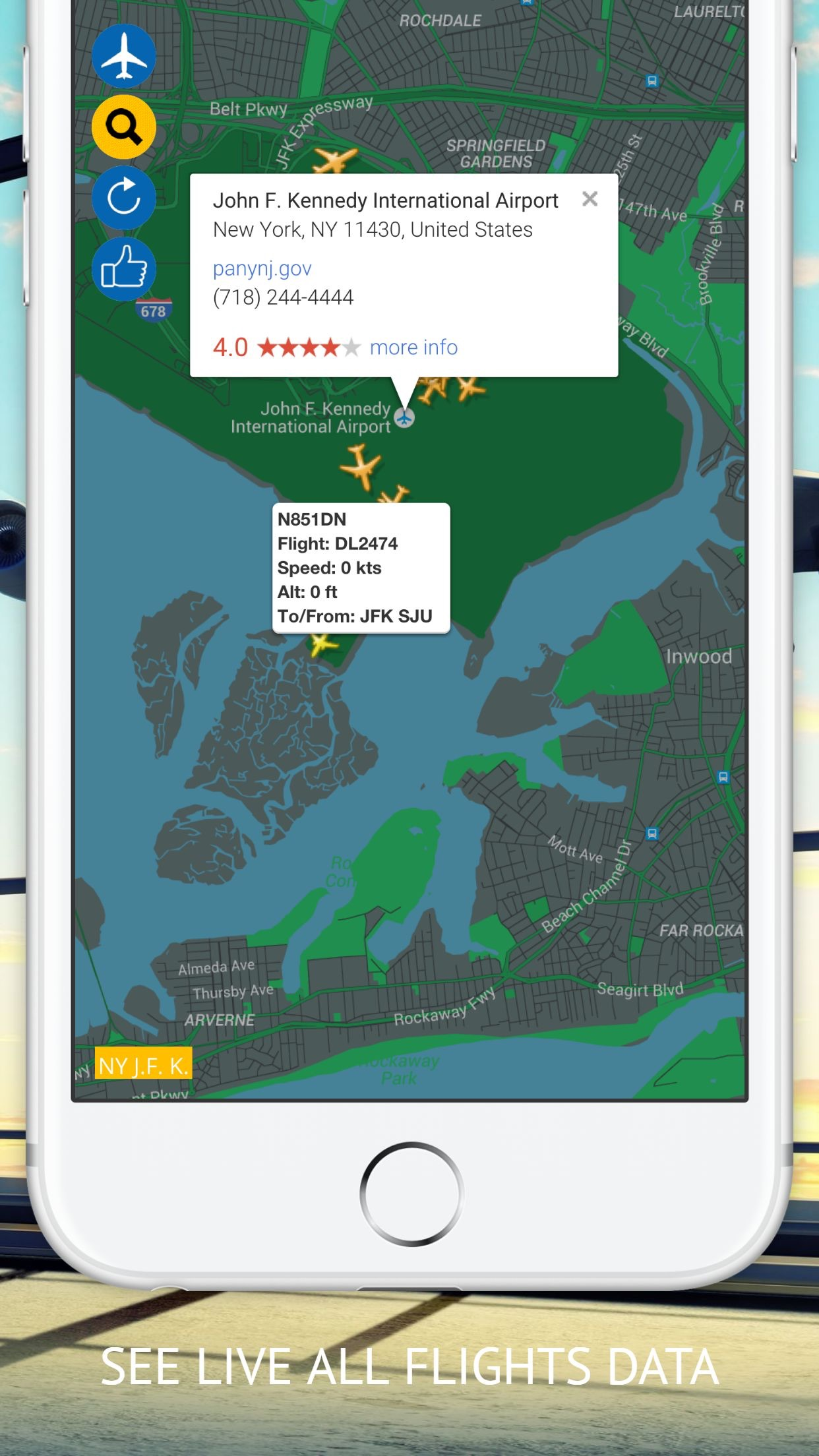 Flight Navigation Free Screenshot