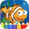 Ocean Animal Coloring Books - Coloring for kids HD