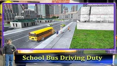 スクールバスの運転手の3D 2016:最高の無料シミュレーションゲームのおすすめ画像5