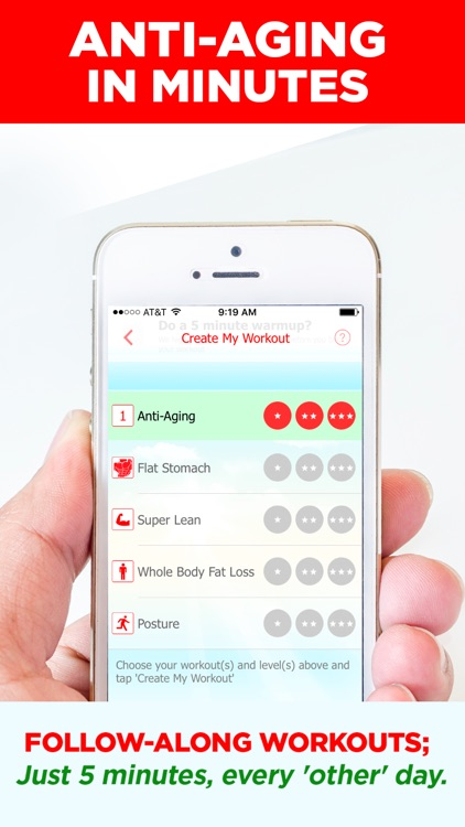 Anti-Aging In Minutes: Dr Designed 5 Min Workouts