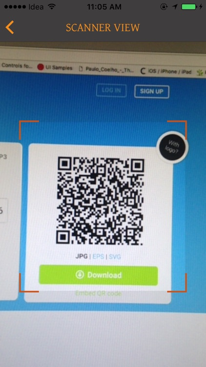 Bar/QR-Code Scan&Generator Pro screenshot-1