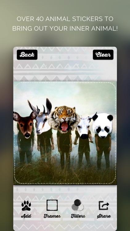Animal Face - IG Selfie Editor & Stickers screenshot-4