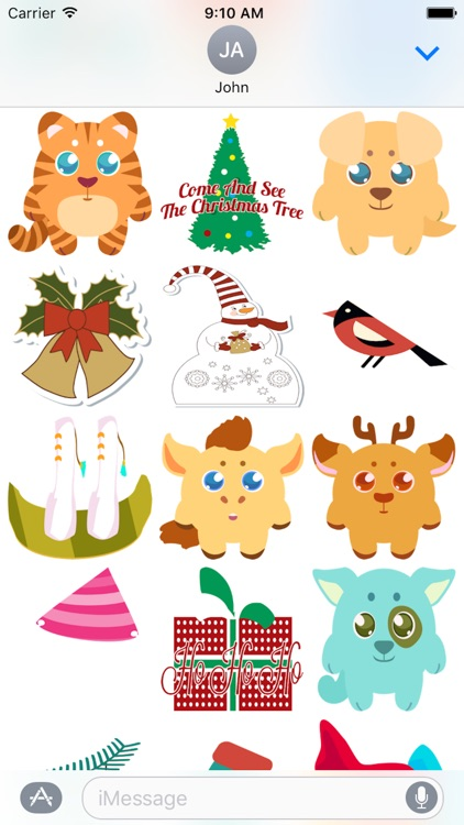 Mery Chirstmas Sticker