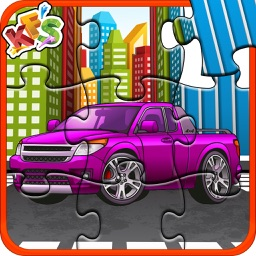 Car & Truck Puzzle for Kids- Educational Game